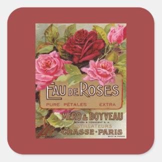 Eau De Roses Frenchのにおい スクエアシール