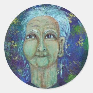 Ebb神のフェミニンな伯母さん ラウンドシール