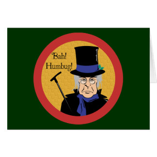 Ebenezer Scrooge カード