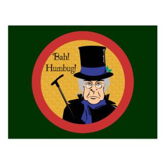 Ebenezer Scrooge ポストカード