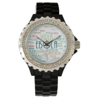 EBOLA 腕時計