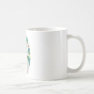 ebroideredトンボ コーヒーマグカップ