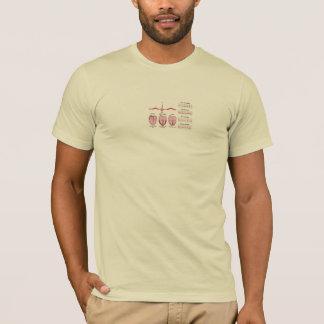 ECGのハート Tシャツ