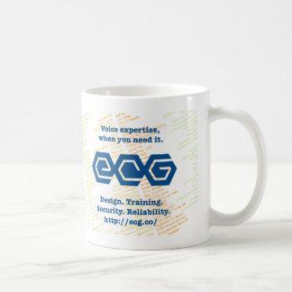 """ECG """"私はハートSIP""""マグを曇らしました コーヒーマグカップ"""