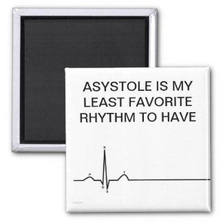 ecg、ASYSTOLEは私の最少のお気に入りのなリズム…です マグネット