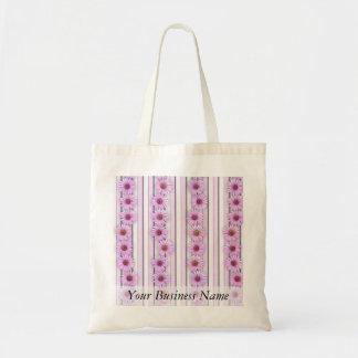 Echinaceaの花は縞で飾ります トートバッグ