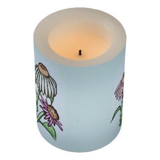 Echinacea - Coneflowers -庭の… LEDキャンドル