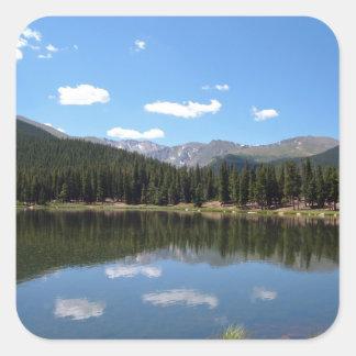 echo湖Mtエバンズコロラド州 スクエアシール