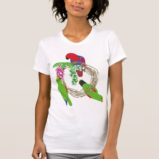 Eclectus Parrot Tシャツ