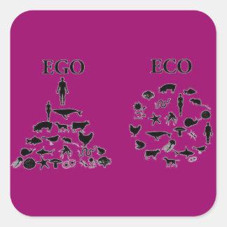 Eco対自我 スクエアシール