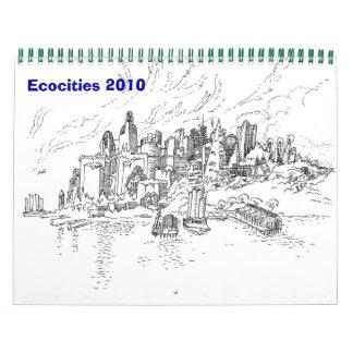 Ecocities 2010年 カレンダー