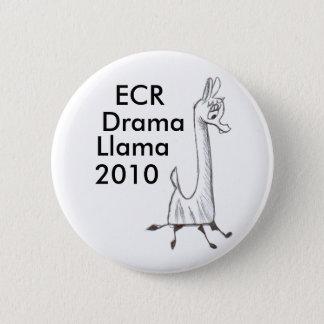 ECRの戯曲ラマ2010年 5.7CM 丸型バッジ