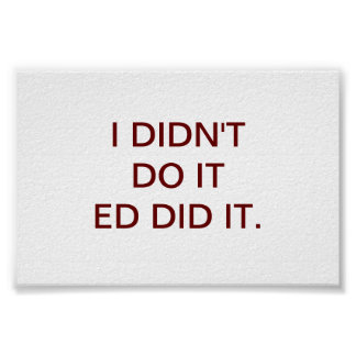 EDはそれをしました ポスター