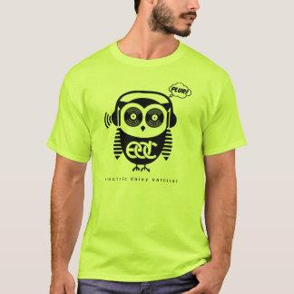 EDCのフクロウのユニセックスなティー Tシャツ
