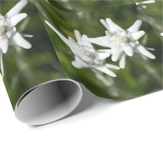 Edelweissの高山の花 ラッピングペーパー
