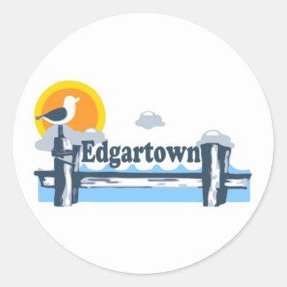 Edgartown MA -桟橋の設計 ラウンドシール