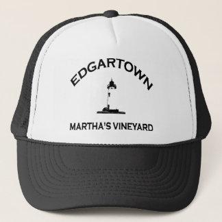 Edgartown MA -灯台設計 キャップ