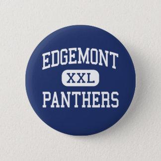 Edgemont -ヒョウ-高Scarsdaleニューヨーク 5.7cm 丸型バッジ