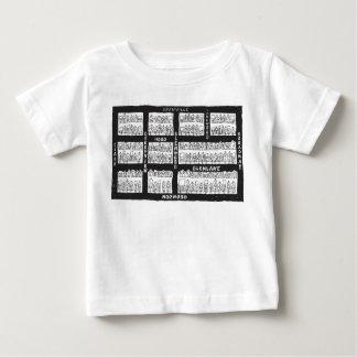 Edgewaterの谷間のベビーのTシャツ ベビーTシャツ