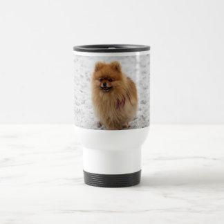 Edgrrrr #2 -ポメラニア犬 トラベルマグ