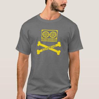 EDMのヘッド黄色 Tシャツ