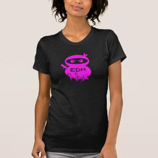 EDMの忍者の女の子 Tシャツ