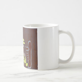 Edna Dorisおよびトレバー コーヒーマグカップ