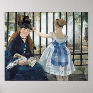 Édouard Manet: 鉄道 ポスター