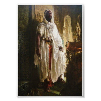 Eduard Charlemont著Moorishの責任者 ポスター