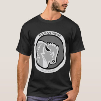 EDUKANからあなたのエディーにバイソンのTシャツを得て下さい Tシャツ