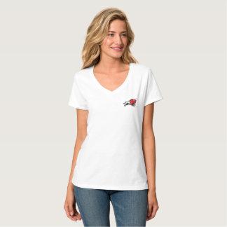 EDUKANからあなたのエディーにバイソンのv首のTシャツを得て下さい Tシャツ