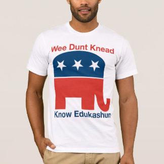 Edukashun -人のTシャツ Tシャツ