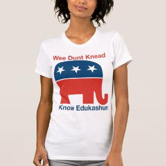 Edukashun -女性のTシャツ Tシャツ