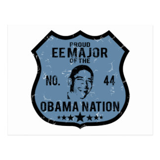 EE専攻のなオバマの国家 ポストカード