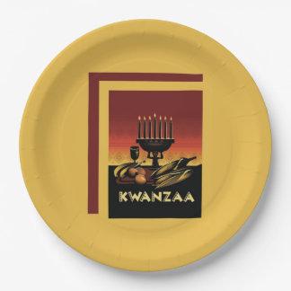 eersteの口うるさい人のKwanzaaのパーティーの紙皿は死にます ペーパープレート