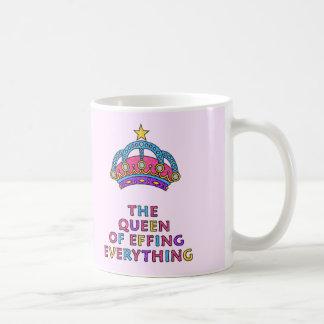 Effingの女王すべてマグ コーヒーマグカップ