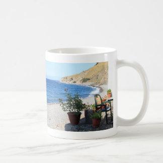 「Eftalouのビーチ、Lesvos コーヒーマグカップ