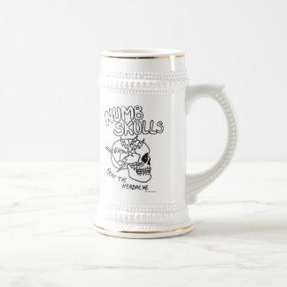 efvcのnumbskullのマグ ビールジョッキ