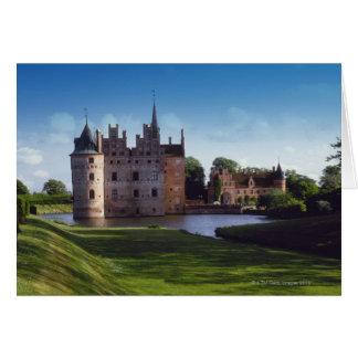 Egeskovの城、デンマーク カード