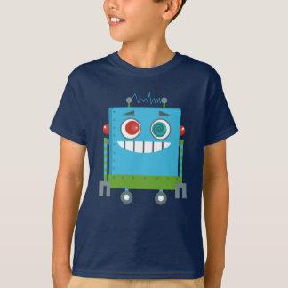 Eggrollのゲームによるユリそしてエマ: Denkiロボット Tシャツ
