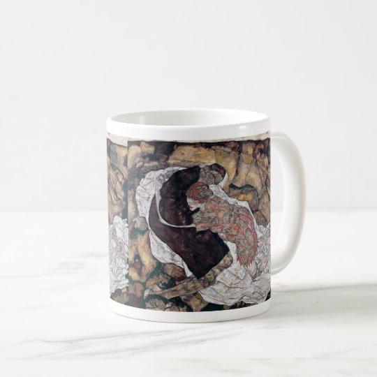 "Egon Schiele , "" Death and the Maiden "" コーヒーマグカップ"