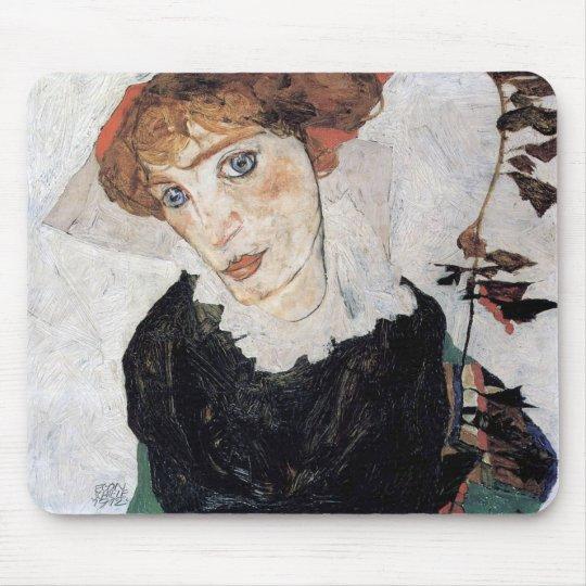 "Egon Schiele , "" Portrait of Wally "" マウスパッド"