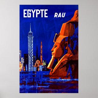 Egypteの~のファラオRamses ポスター