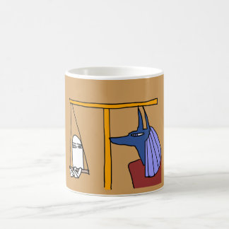 Egyptian God  MEDJED and Anubis book of the dead コーヒーマグカップ