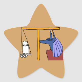 Egyptian God  MEDJED and Anubis book of the dead 星シール