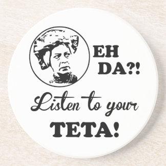 EH DAか。! あなたのTETAに聞いて下さい! コースター