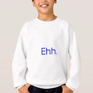 Ehh。 灰色の暗藍色 スウェットシャツ
