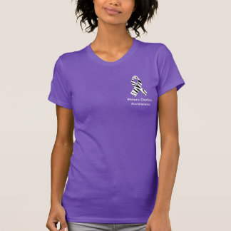 Ehlers Danlosのシマウマのプリントの認識度のリボンのワイシャツ Tシャツ