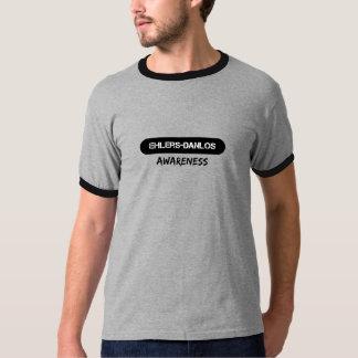 Ehlers-Danlosの認識度のワイシャツ Tシャツ
