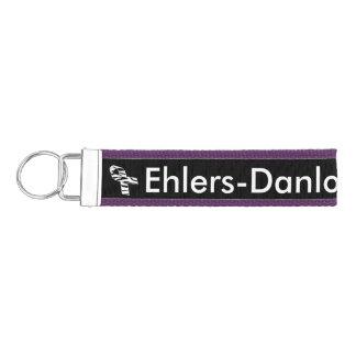 Ehlers Danlosの認識度の手首のキーホルダー リストバンドキーホルダー